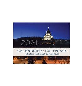 L'Oratoire Saint-Joseph du Mont-Royal Calendrier 2021 de l'Oratoire