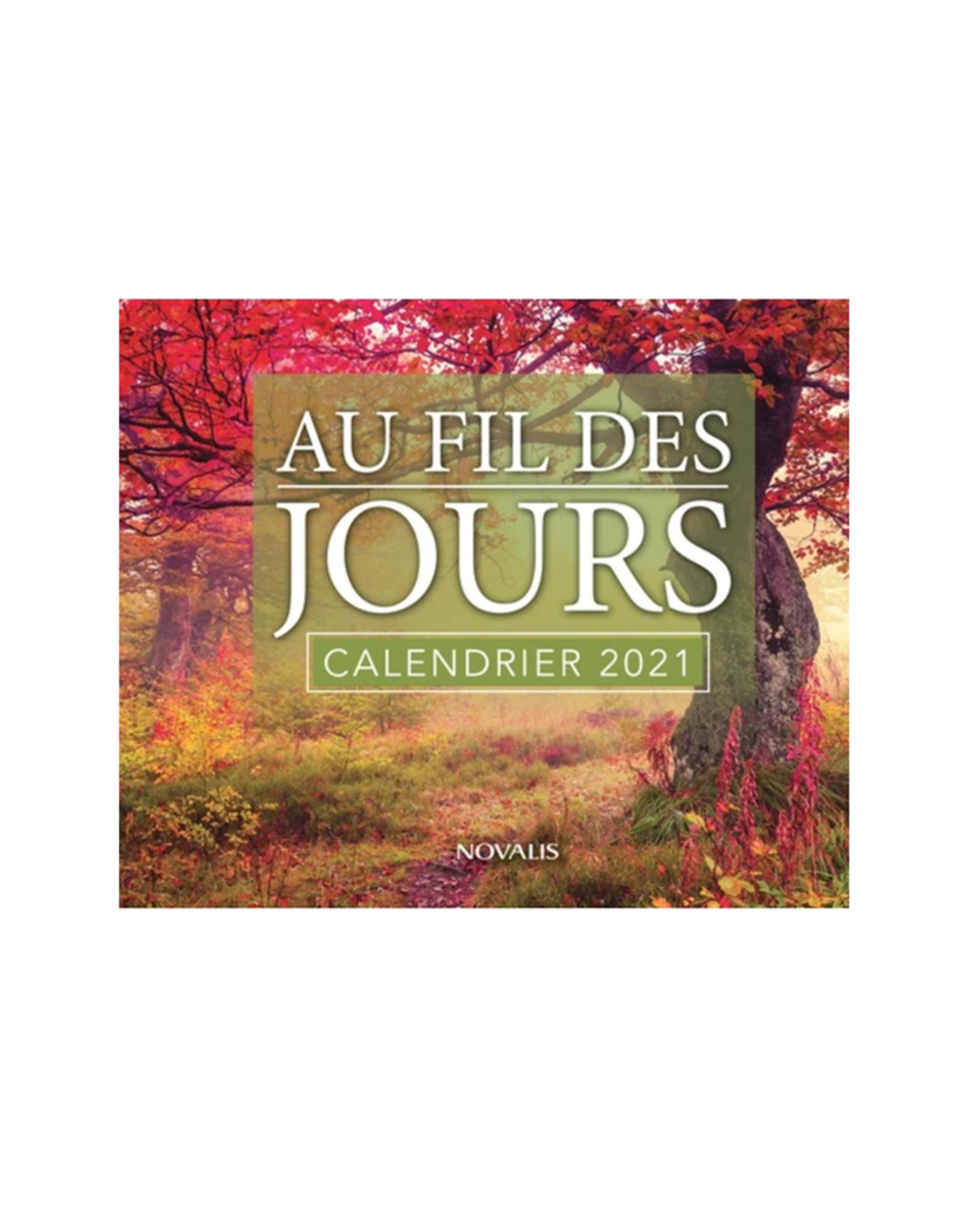 Novalis Au fil des jours - Calendrier 2021 (french)