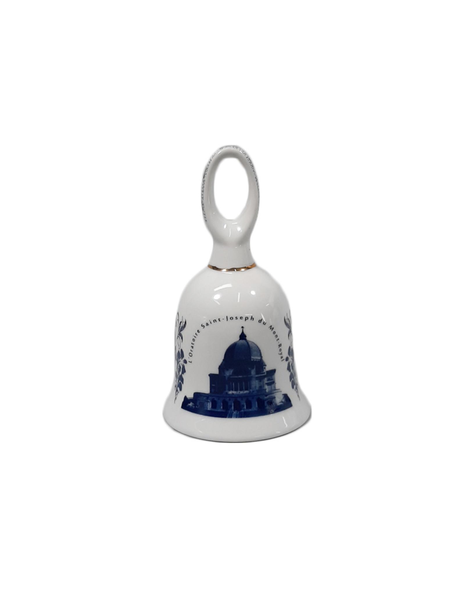 Cloche souvenir de l'Oratoire Saint-Joseph en porcelaine