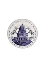 Assiette souvenir en porcelaine de l'Oratoire Saint-Joseph