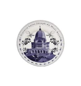 Saint Joseph's Oratory porcelain souvenir plate