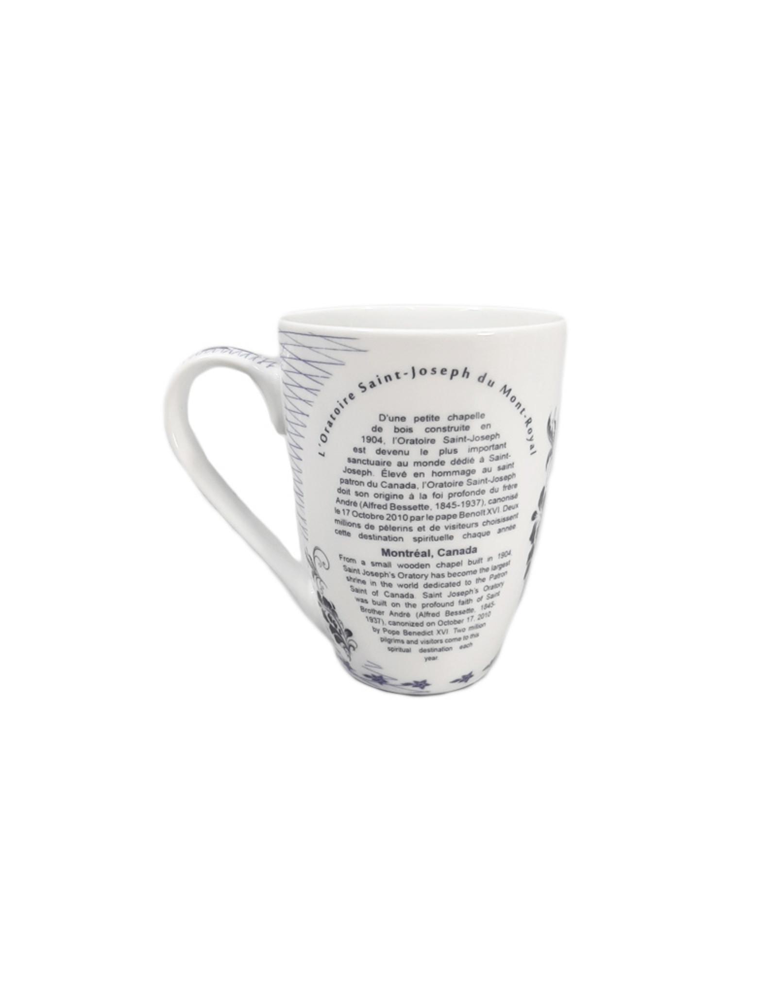 Saint Joseph's Oratory porcelain souvenir cup