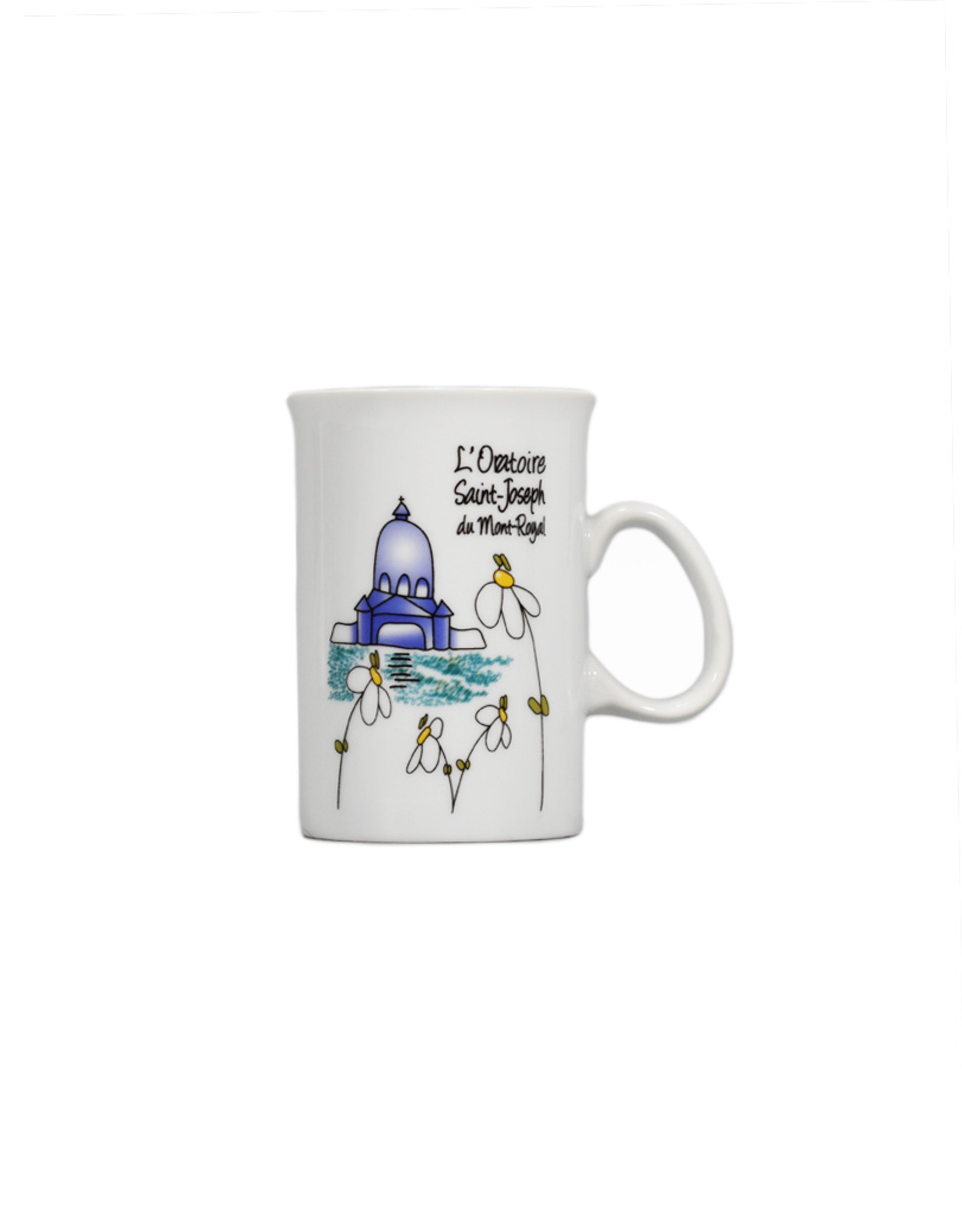 Saint Joseph's Oratory naive art souvenir mug