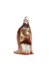 Resin Nativity scene with carved wood finish (10pcs)