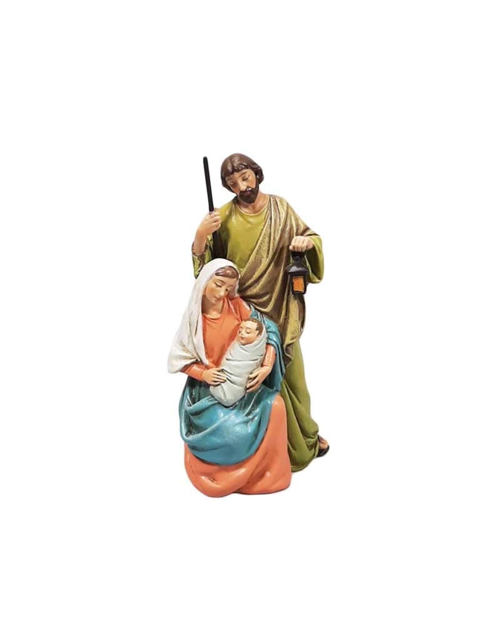 Nativité classique en couleur (10cm)