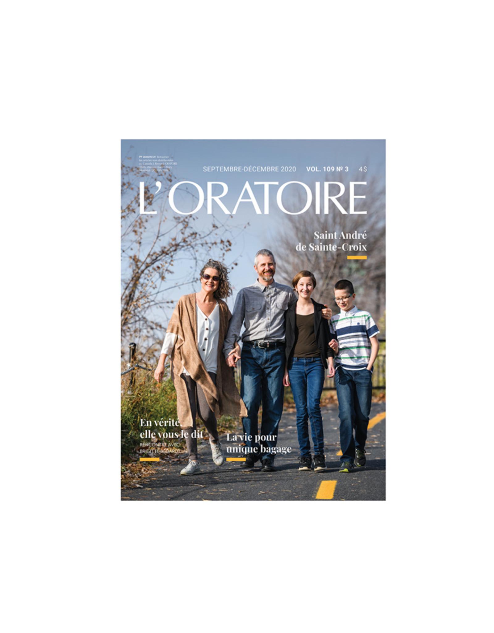 Revue L'Oratoire Septembre-Décembre 2020 vol.109. no.3
