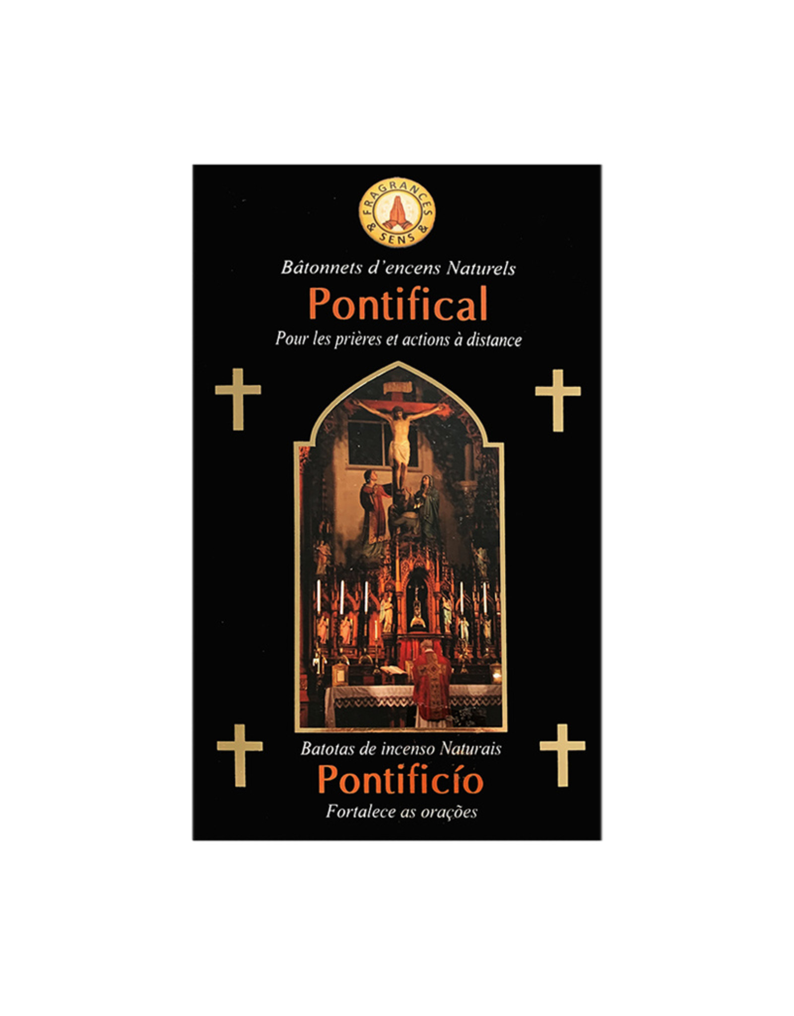 Fragrances & Sens Encens bâtonnets Pontifical 12pcs 15g.