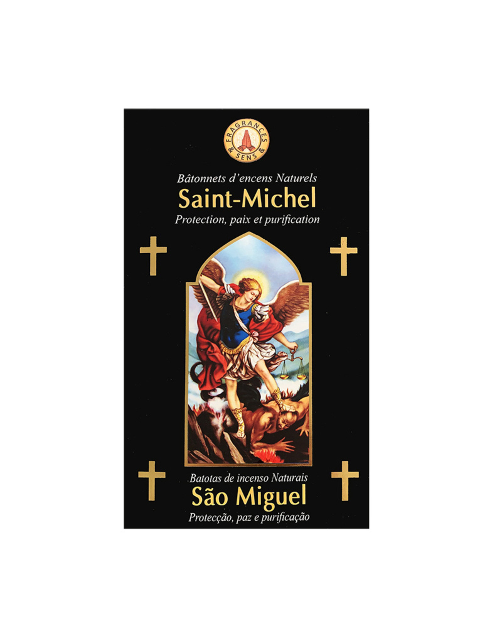Fragrances & Sens Encens bâtonnets Saint Michel Archange 12pcs 15g.