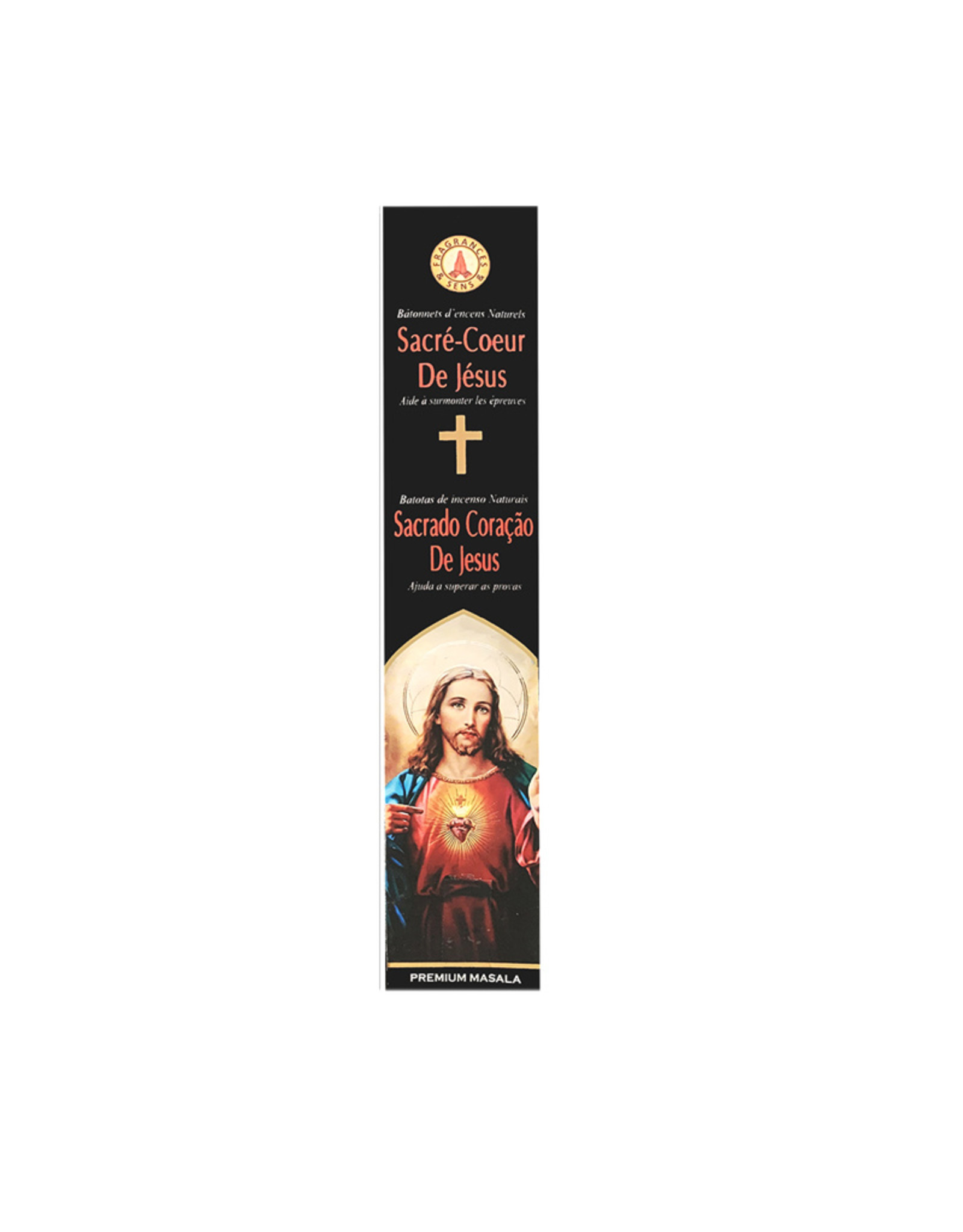 Fragrances & Sens Incense sticks Sacred Heart of Jesus 12pcs 15g