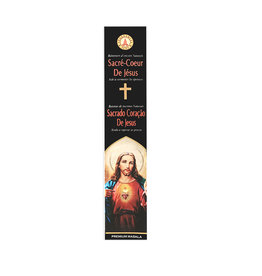Fragrances & Sens Incense sticks Sacred Heart of Jesus