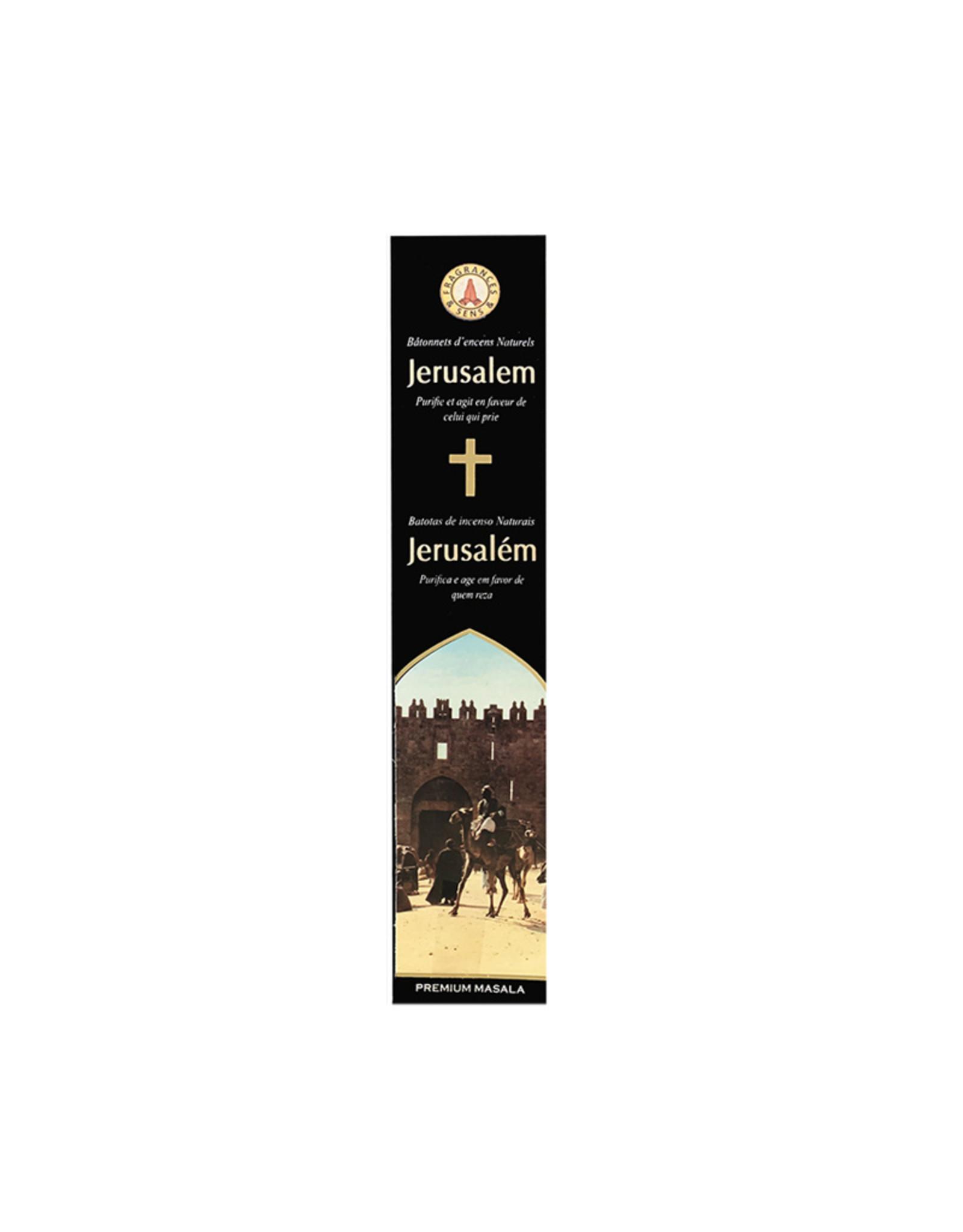 Fragrances & Sens Encens bâtonnets Jerusalem 12pcs 15g