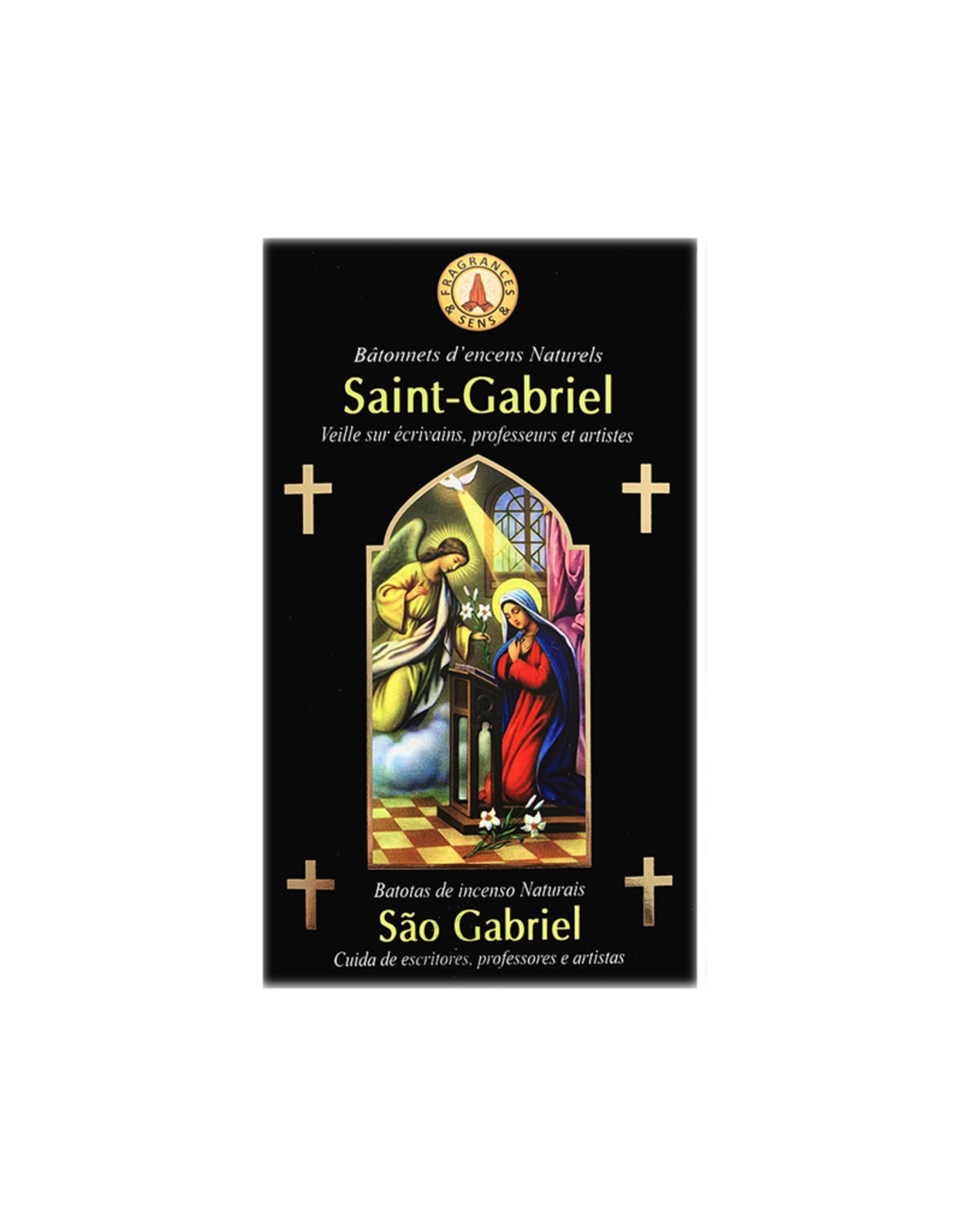 Fragrances & Sens Encens bâtonnets Saint Gabriel Archange 12pcs 15g