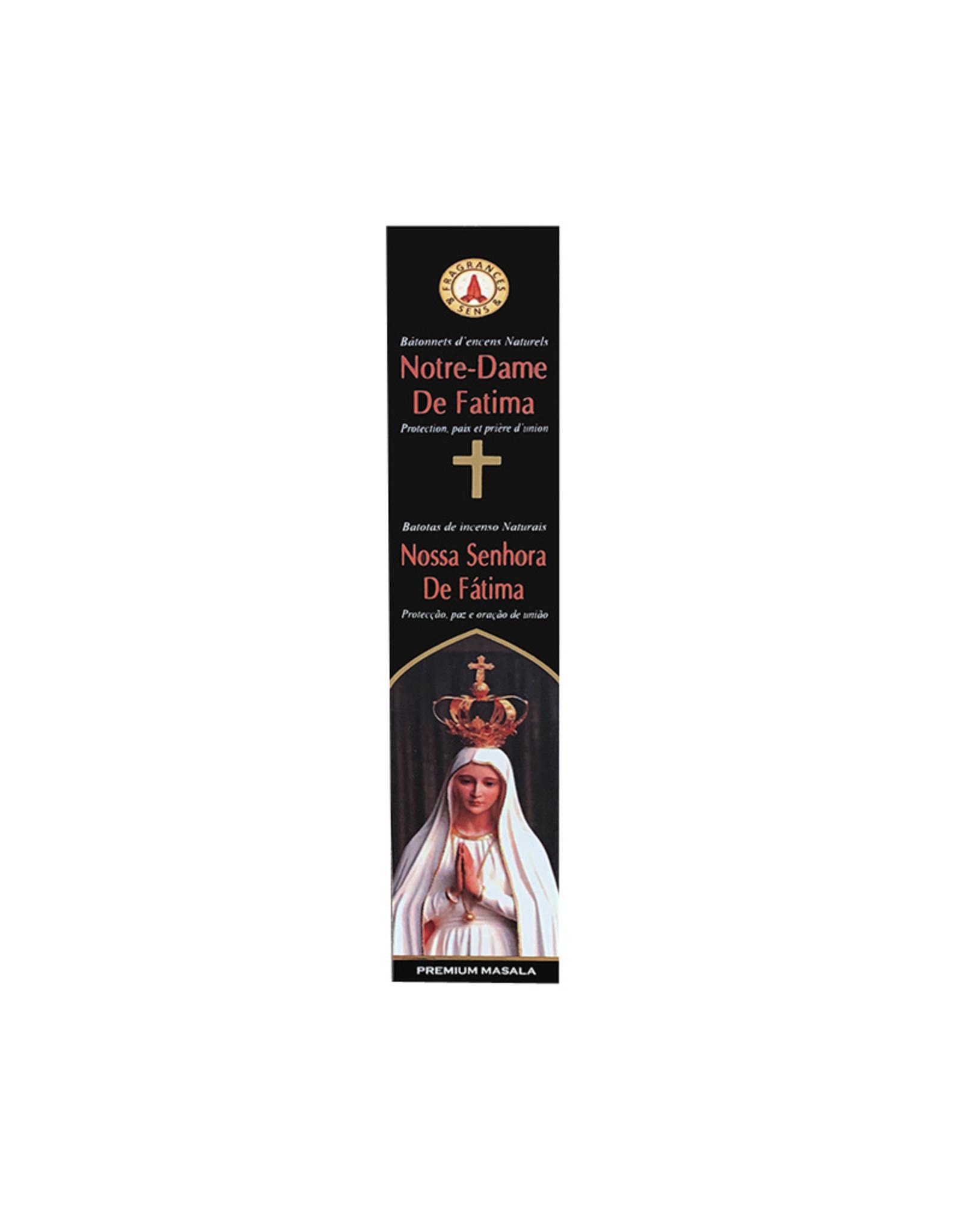 Fragrances & Sens Encens bâtonnets Notre Dame de Fatima 12pcs 15g