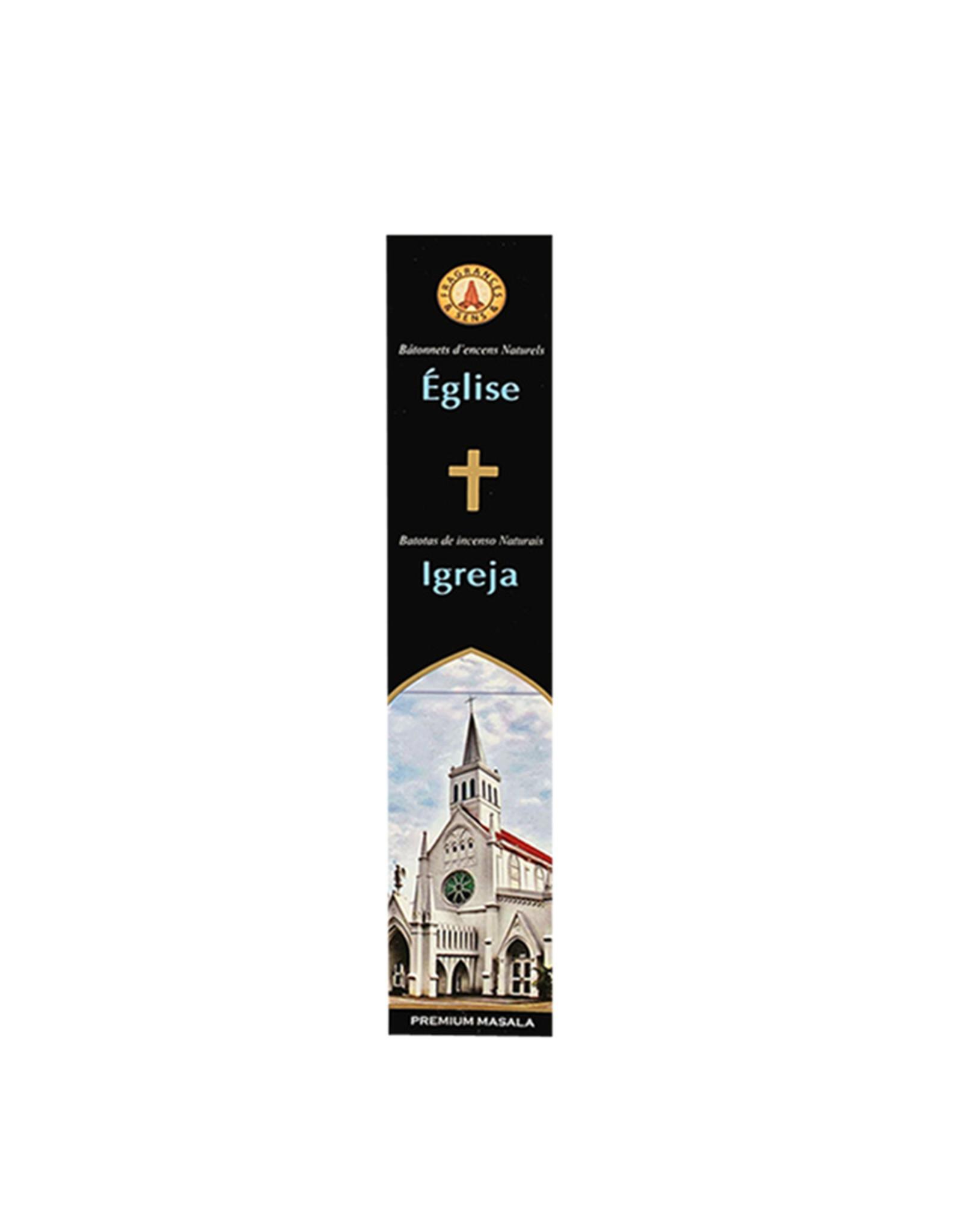 Fragrances & Sens Encens batonnet Église 12pcs 15g