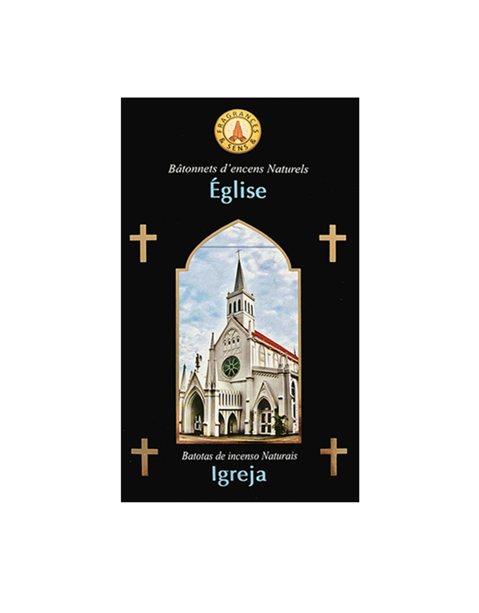 Fragrances & Sens Incense sticks Church blend 12pcs 15g