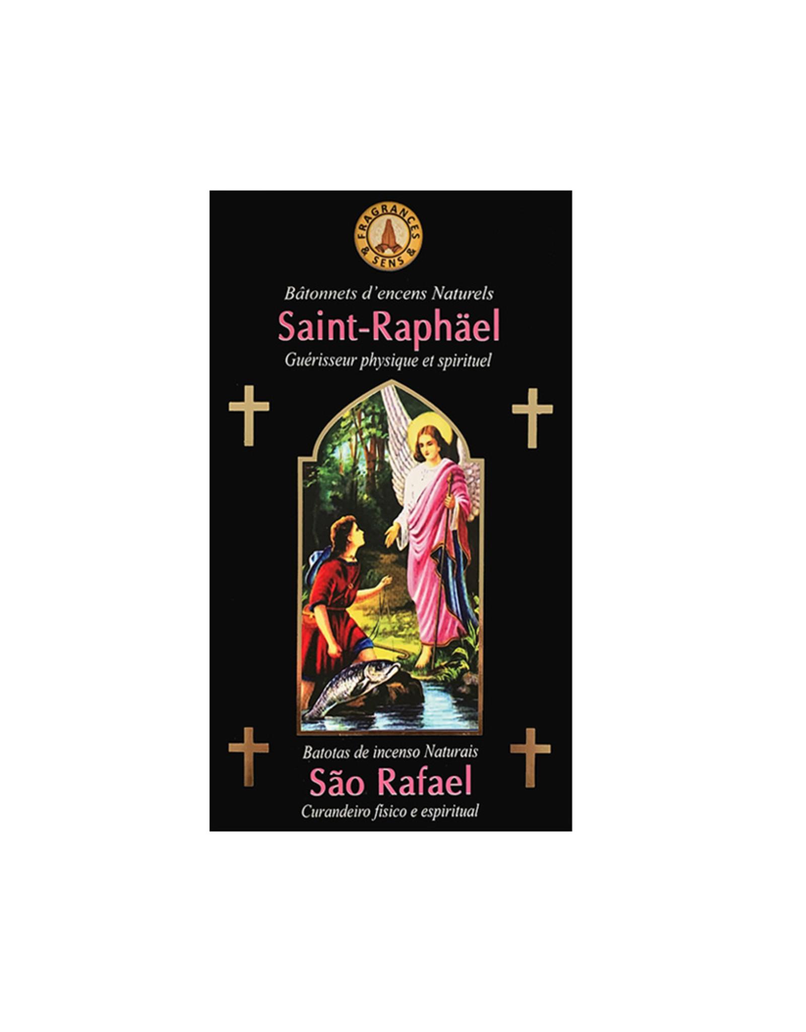 Fragrances & Sens Encens bâtonnets Saint Raphaël Archange 12pcs 15g.