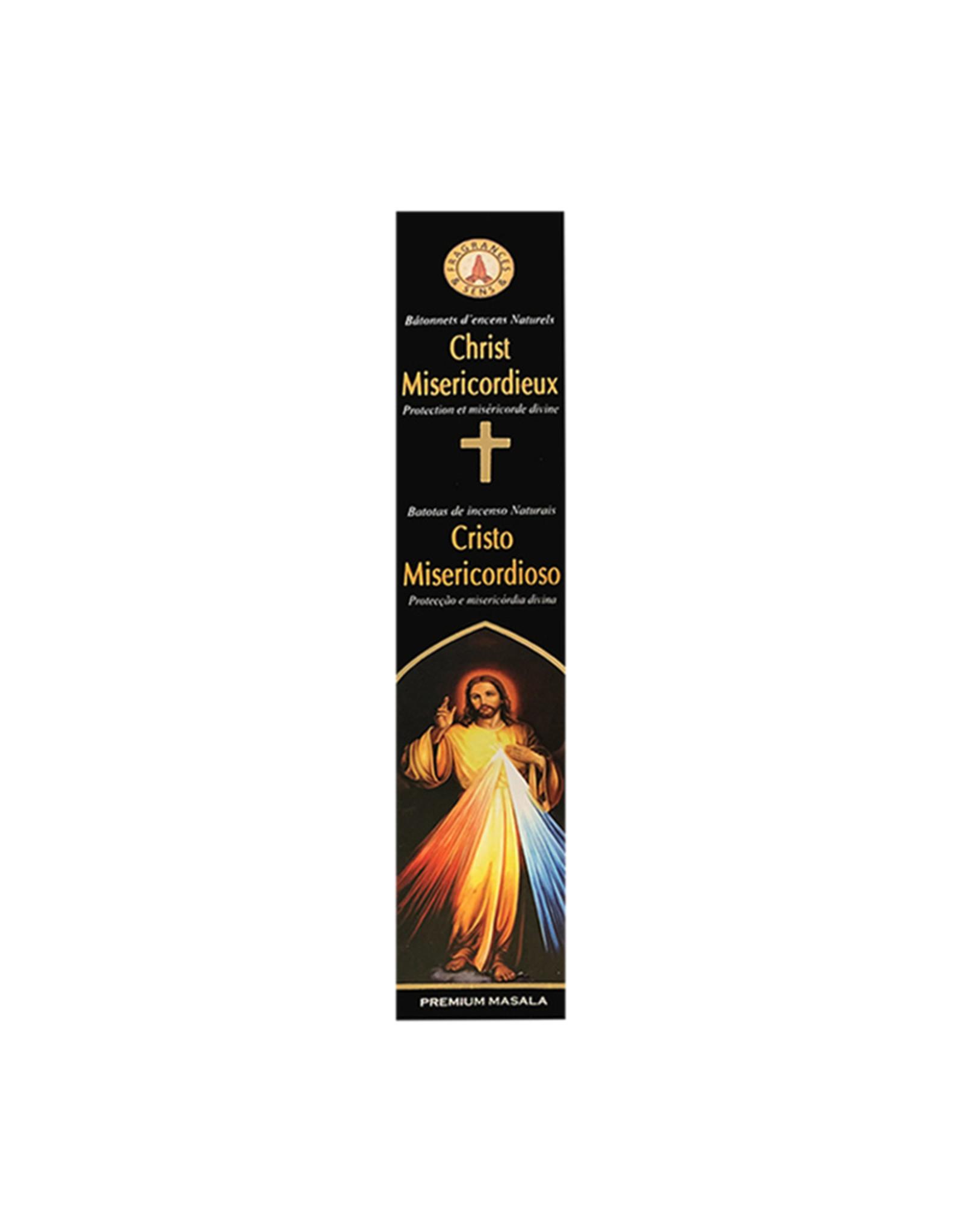Fragrances & Sens Incense sticks Merciful Christ 12pcs 15g