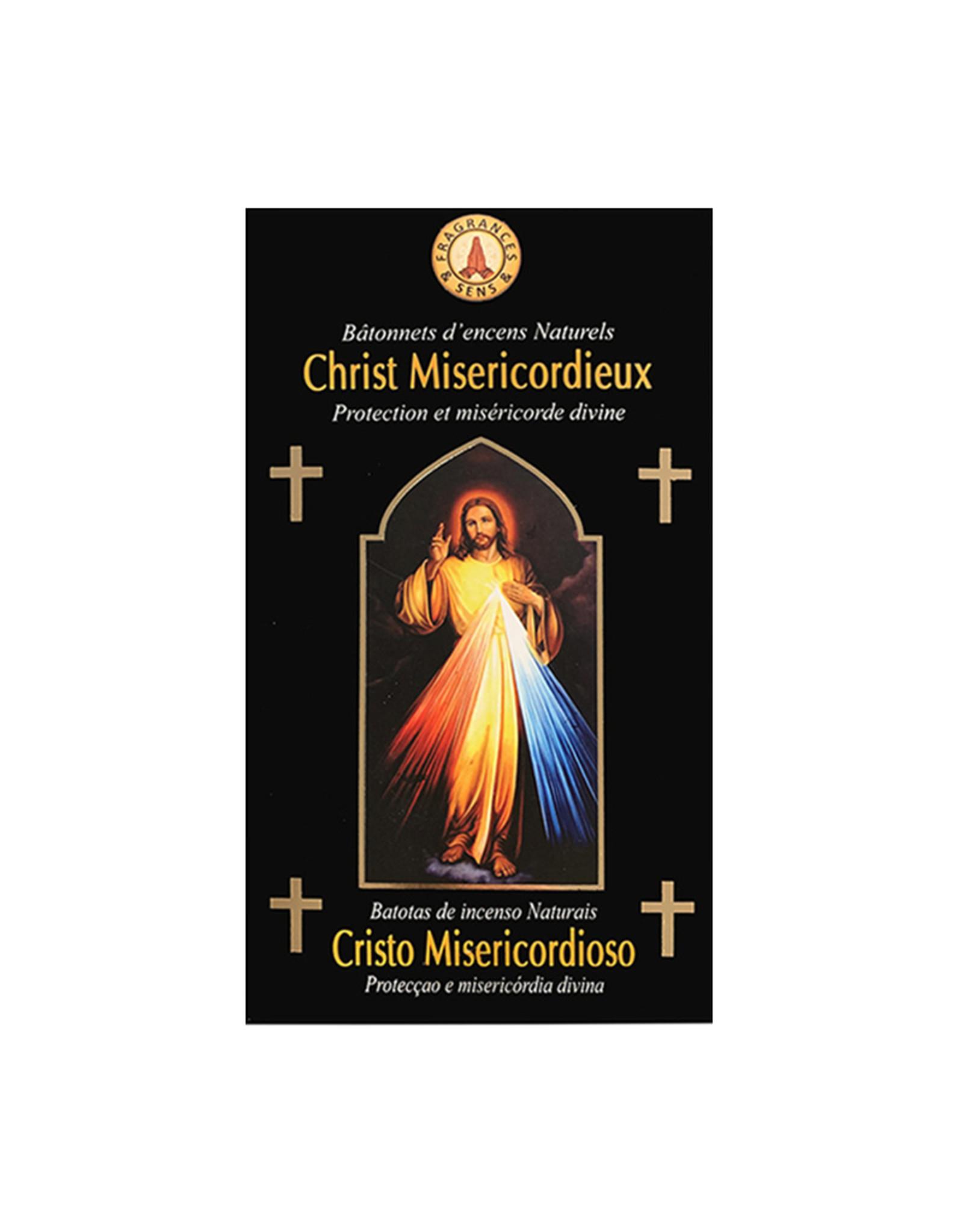 Fragrances & Sens Encens bâtonnets Christ Miséricordieux 12pcs 15g