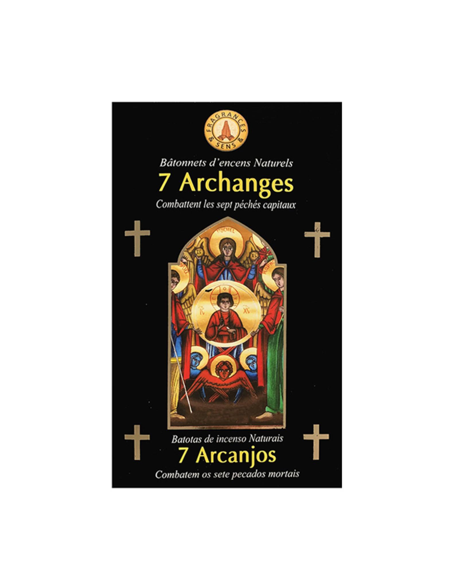 Fragrances & Sens Encens bâtonnets 7 Archanges 12pcs 15g