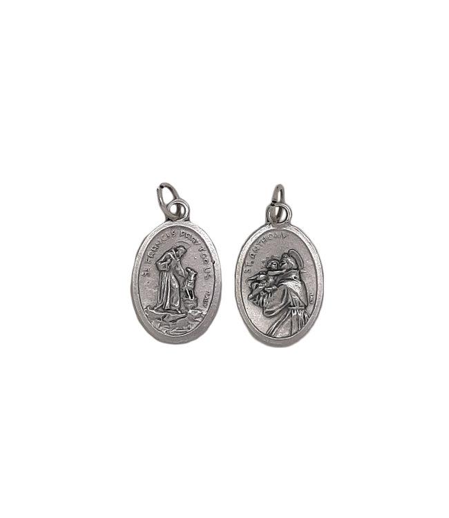 Médaille de saint François et saint Antoine
