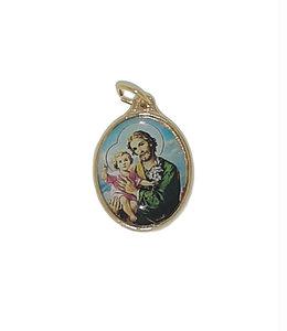Saint Joseph color medal