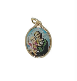 Saint Joseph color medal