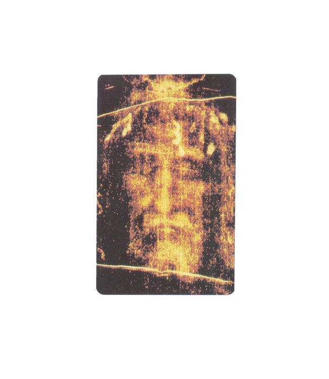 Holy Face prayer card