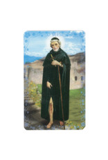 Saint Peregrin prayer card