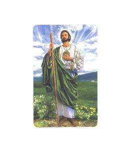 Carte avec prière en anglais, Saint Jude