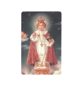 Jesus of Prague prayer card