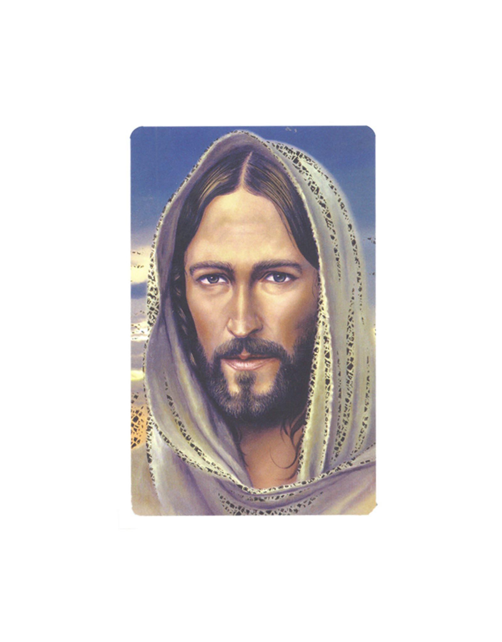 Jesus of Nazareth prayer card