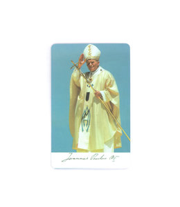 John Paul II prayer card
