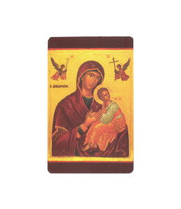 Prayer card Our Lady of Perpetual Help