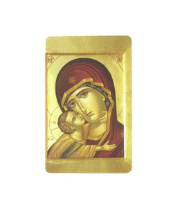 Prayer card Our Lady of Tenderness