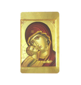 Carte avec prière en anglais, Notre Dame de Tendresse