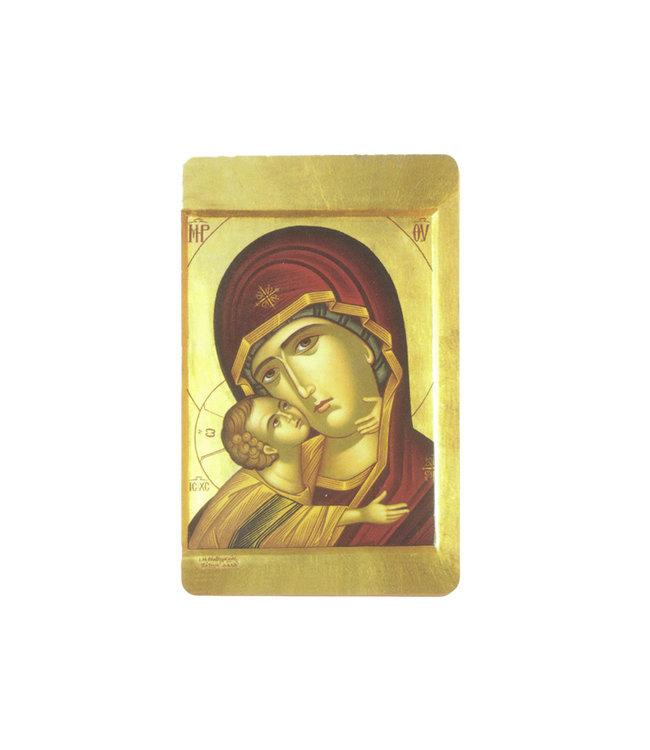 Prayer card Virgin of Tenderness