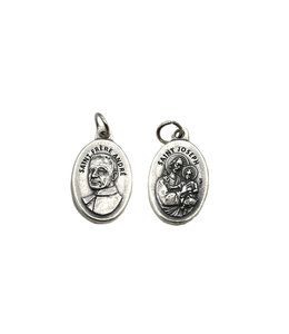 Medal of Saint Joseph and Saint Brother Andre