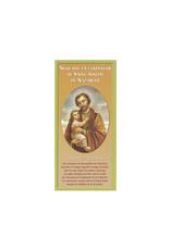 Neuvaine en l'honneur de saint Joseph (feuillet)