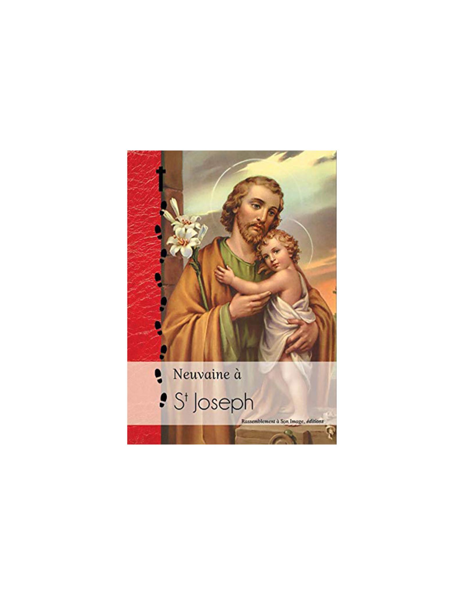 Neuvaine à Saint Joseph- Éd. Rassemblement à Son Image (french)