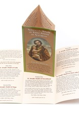 Novena in Honor of Saint Joseph of Nazareth (feuillet en anglais)