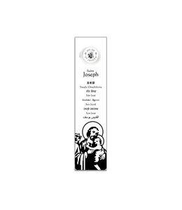 Signet prière avec huile de saint Joseph (anglais)