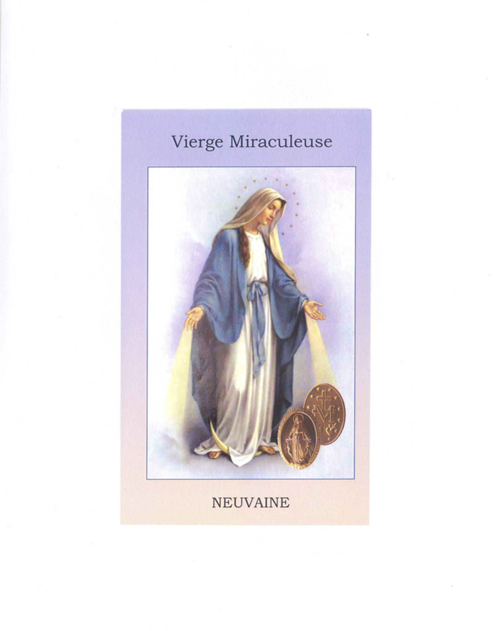 Neuvaine à la Vierge Miraculeuse