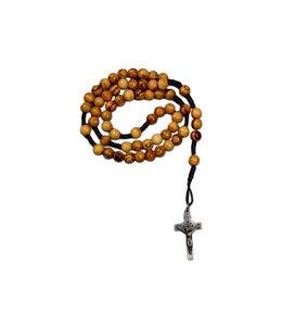 Chapelet relique tombeau de Jésus sur corde