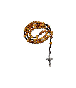 Tomb of Jesus relic rosary on cord