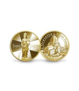 Pichard-Balme Souvenir medallion of Saint Joseph