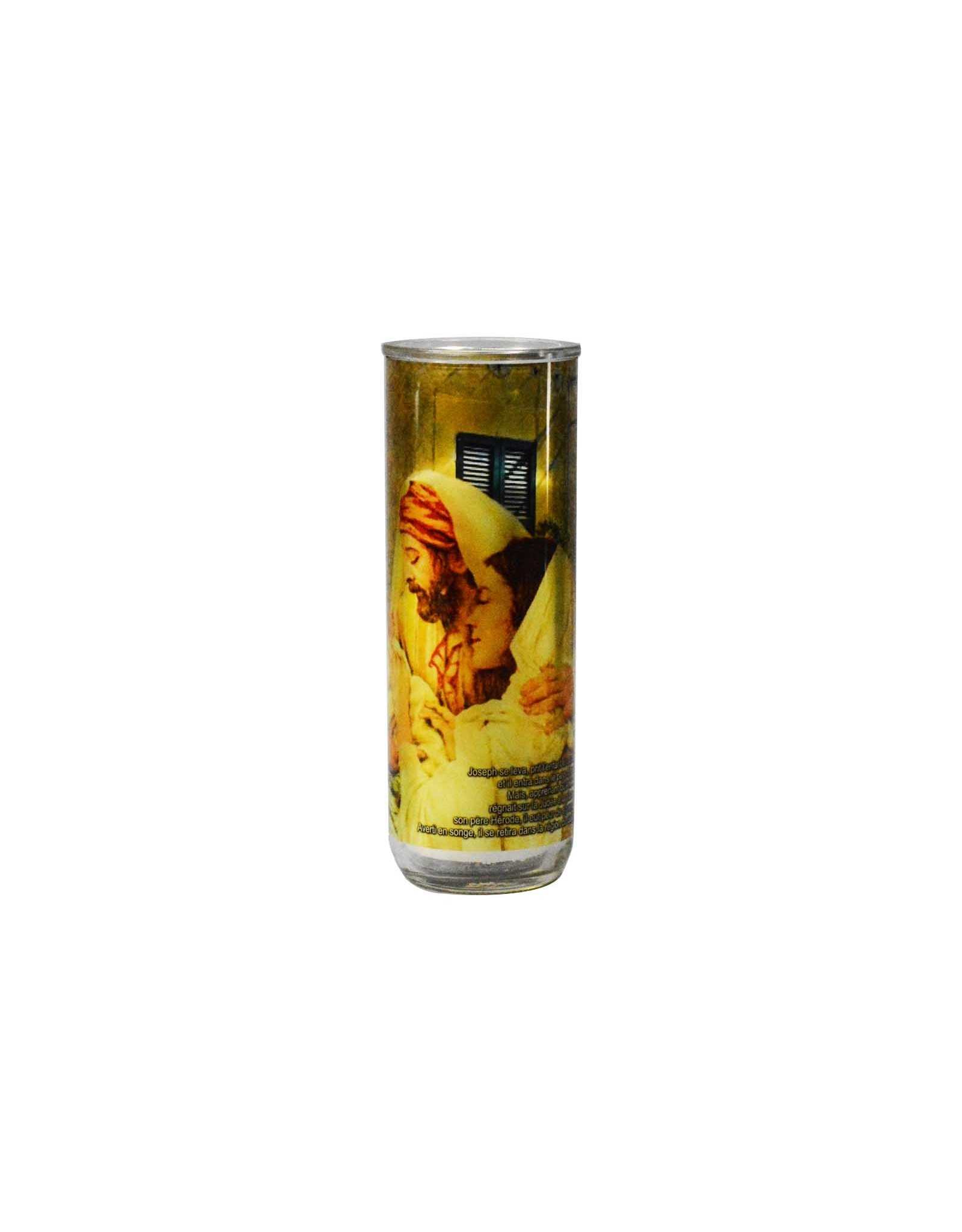 Chandelles Tradition / Tradition Candles Verre à lampion: Année de Saint Joseph