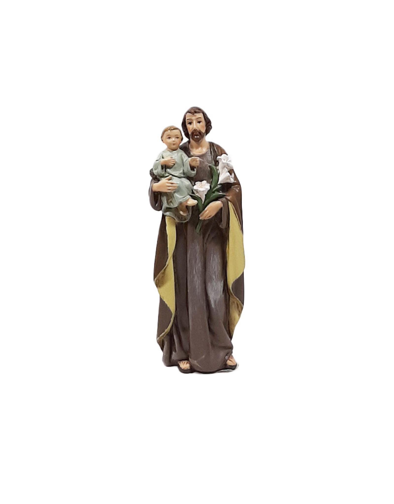 Joseph's Studio / Roman Statue saint Joseph et Enfant (10cm)