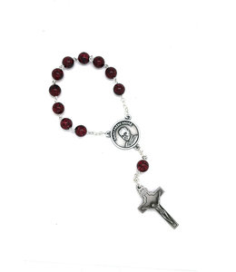 Saint Brother André Decade Rosary with Relic