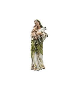 Joseph's Studio / Roman Virgin Mary and Child statue  (16cm)
