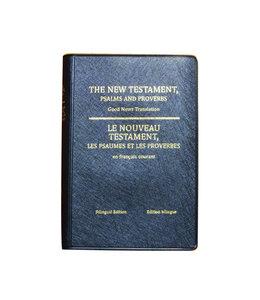 Société Biblique / Bible Society Le Nouveau Testament, Psaumes et Proverbes - Édition bilingue
